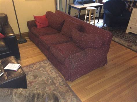 get rid of old couch how do you get rid of an old sofa brokeasshome com