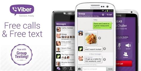 viber app for android viber for android and iphone v2 2 update brings messaging and more new features hubercell