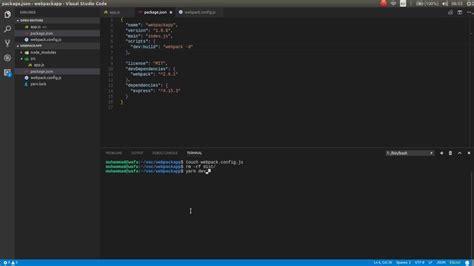 tutorial webpack webpack 2 tutorial part 02 setup with webpack config js