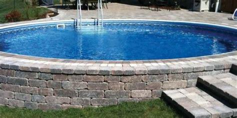 metric semi inground pool diy crafts pinterest
