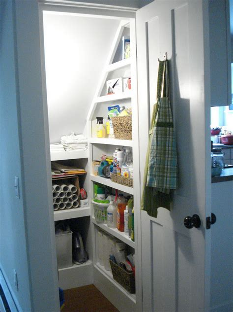 Stair Closet Organization Ideas by Stylish In Addition To Interesting Pantry Shelving Ideas