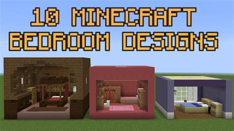 minecraft bett 10 minecraft bedroom designs