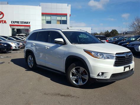 Toyota Expressway Certified Pre Owned 2016 Toyota Highlander Limited