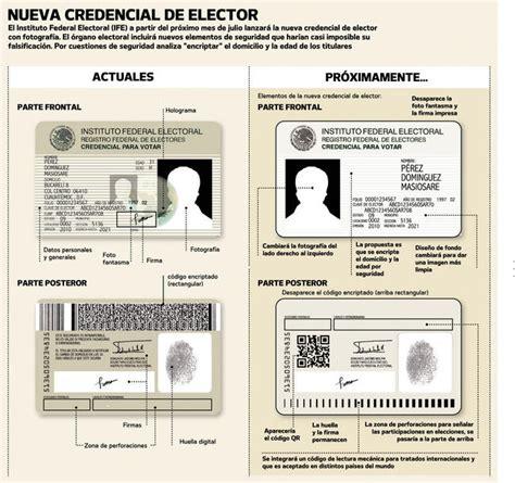el ife presenta el nuevo formato de la credencial de elector proponen cambios en el dise 241 o de la cre 187 foro del lector
