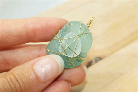 how to make jewelry out of sea glass a gift for easy sea glass jewelry amsterdam and beyond
