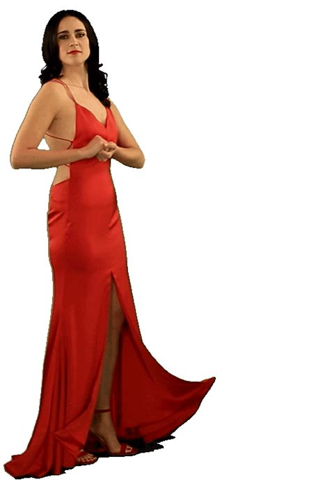 dancing emoji gif happy lady in red sticker by originals for ios android