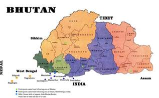 Bhutan World Map by Maps Of Bhutan Map Library Maps Of The World