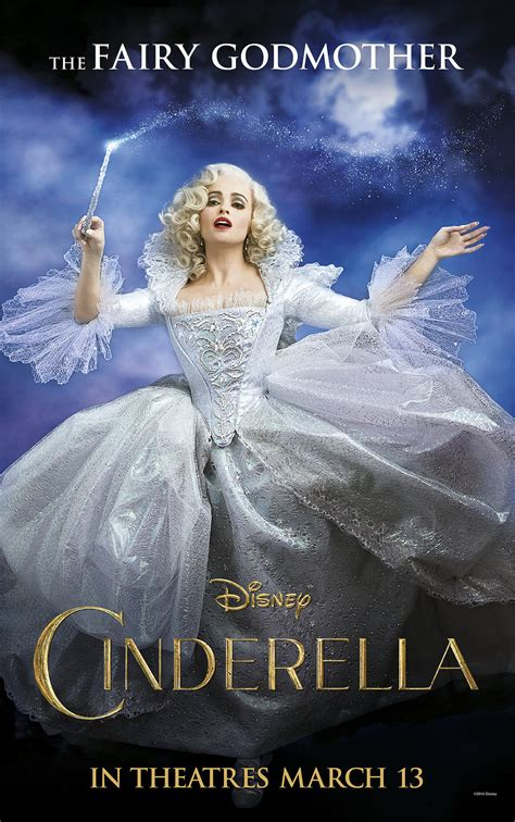 cinderella film year helena bonham carter as cinderella s fairy godmother