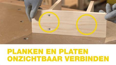 tafel maken plaatmateriaal praxis planken en platen onzichtbaar verbinden hoe doe