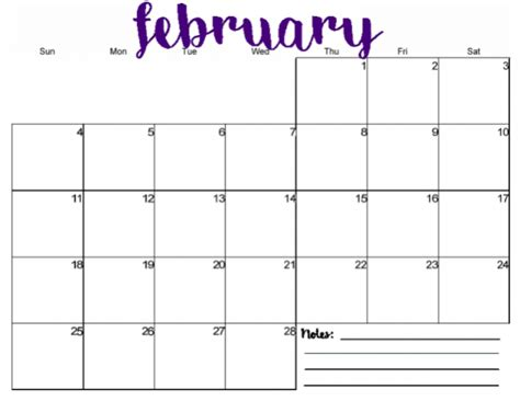 monthly calendars printable printable