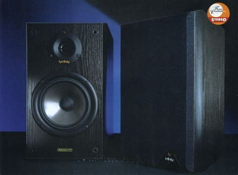 bookshelf speakers infinity reference 11i review and test