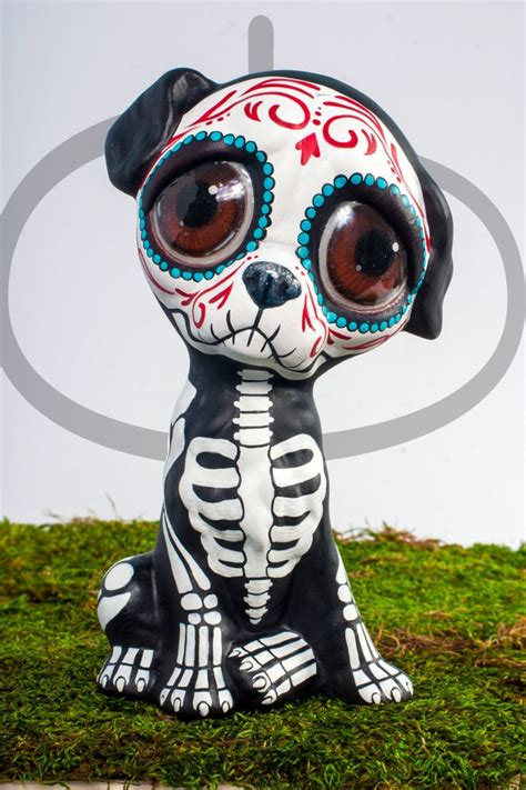 pug of the day 17 best images about day of the dead crafts on mexican santa muerte