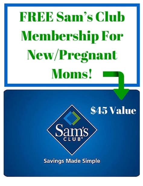 Free Giveaways For Pregnant Moms - free sam s club membership for new pregnant moms i don t have time for that