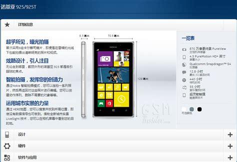 lumia 925 specs nokia lumia 925 specifications