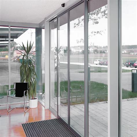 Automatic Sliding Glass Door Dorma St Flex Automatic Sliding Door System With Slender Frame Profiles