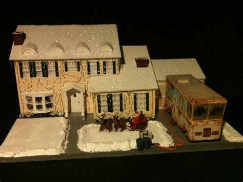 christmas vacation house john stewart art