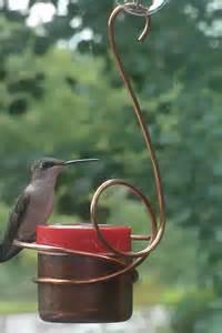 window mounted bee proof hummingbird feeder