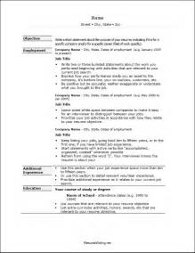 Resume Format In Word 2003 by Resume Format In Ms Word 2003