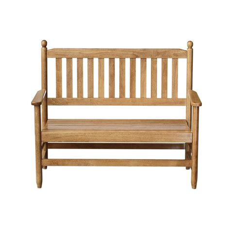 foot benches vifah malibu 5 ft patio bench v1635 the home depot