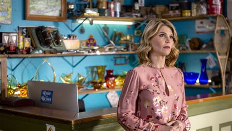 lori loughlin garage sale mysteries wardrobe its a wonderful movie your guide to family and christmas