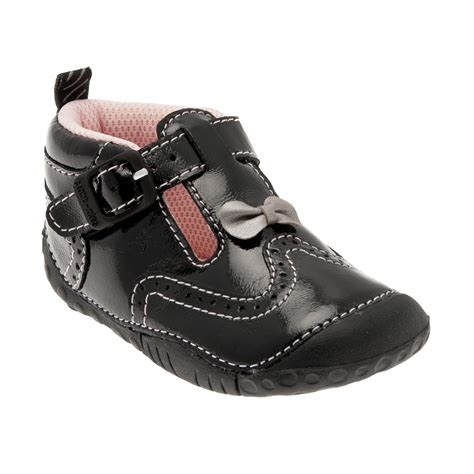 kids shoes fitted childrens footwear by start rite may black patent girls first shoe