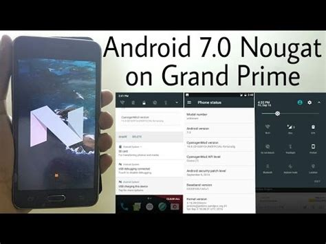 prime android android 7 0 nougat cyanogenmod 14 on galaxy grand prime