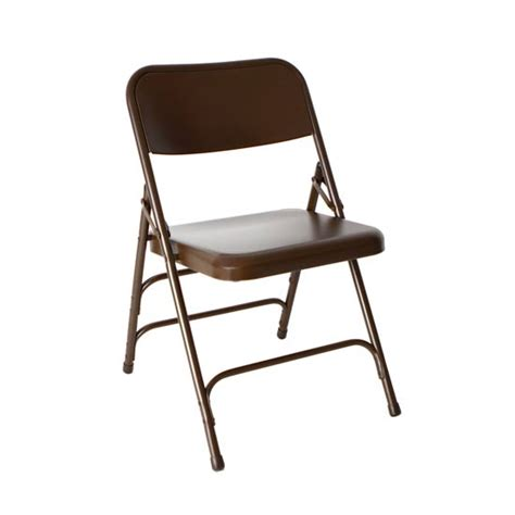 Steel Folding Chair by All Steel Brown Folding Chair Bar Restaurant Furniture