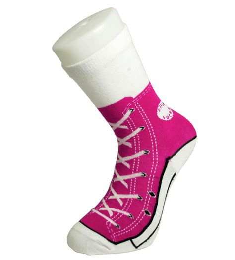 sock sneakers silly socks novelty cotton converse trainers sneakers sock