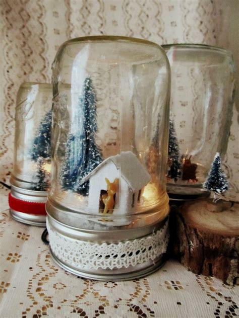 mason jar l diy how to make a mason jar snow globe an easy diy mason
