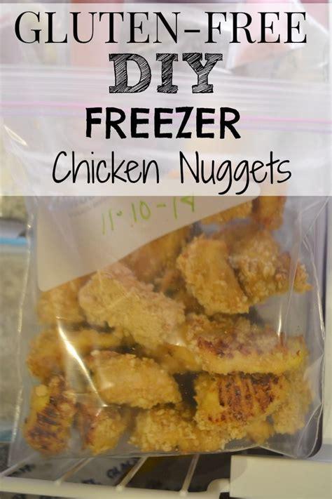 Freezer Nugget gluten free diy freezer chicken nuggets make the best of