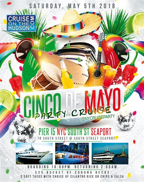 party boat queens ny cinco de mayo nyc happy hour after work new york