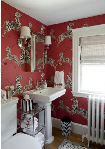 zebra wallpaper for bedrooms the glam pad a roundup of scalamandre zebras