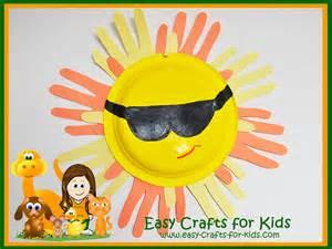 Kids Craft Summer - free summer crafts