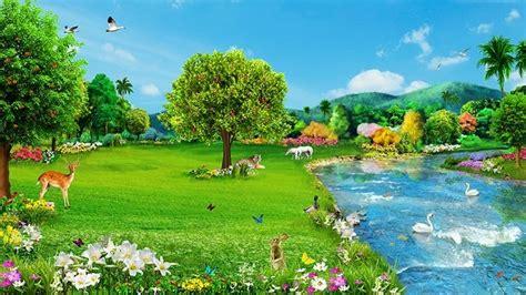 humans return   life   garden  eden