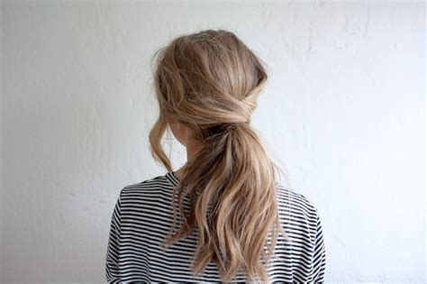 cute hairstyles you can sleep in messy crossover pony easy back to school hairstyles to