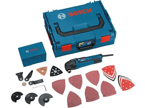 Bosch Multi Cutter Oskilasi Gop250ce bosch gop250ce 110v multi cutter in l boxx and 48 accessories