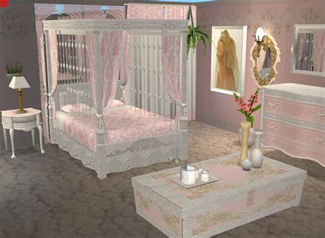sims 2 bedroom sets mod the sims continuation of the marble pink set bedroom
