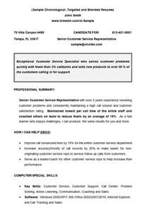 Resume Sle Chronological Format Chronological Resume Template 23 Free Sles Exles Format Free Premium