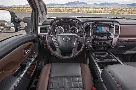 nissan titan interior 2017 nissan titan xd 2017 motor trend truck of the year