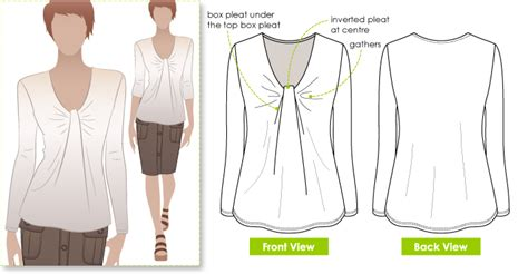 pattern review style arc stylearc polly top