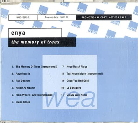 Enya Memory Of Trees Vinyl - enya the memory of trees vinyl records lp cd on cdandlp
