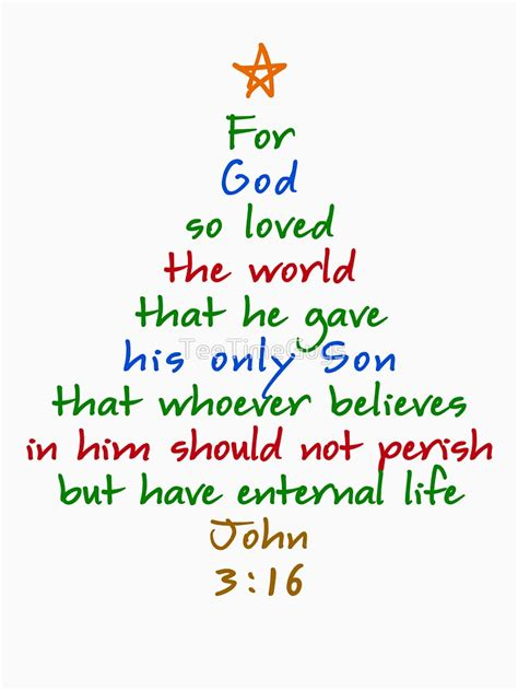 bible verses for christmas tree quot for god so loved the world bible verse tree quot t shirt by teetimeguys redbubble