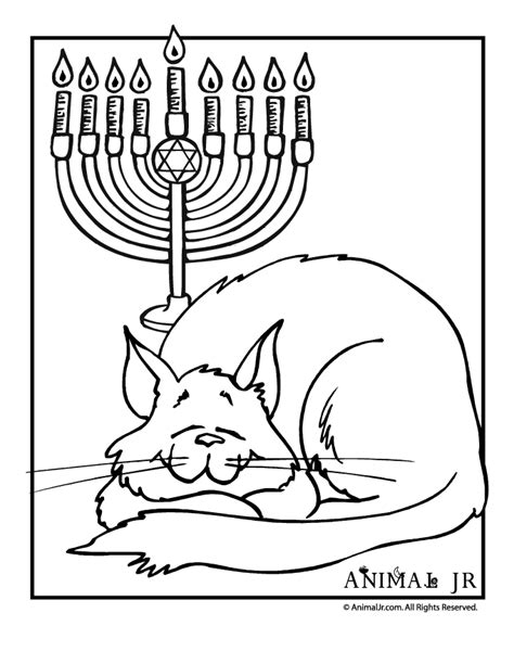 free hanukkah coloring pages coloring home