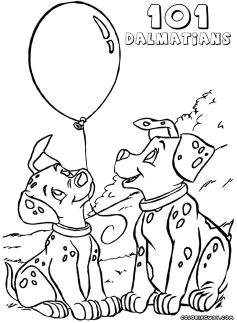 Coloring Pages 101 by 101 Dalmatians Coloring Pages Coloring Pages To