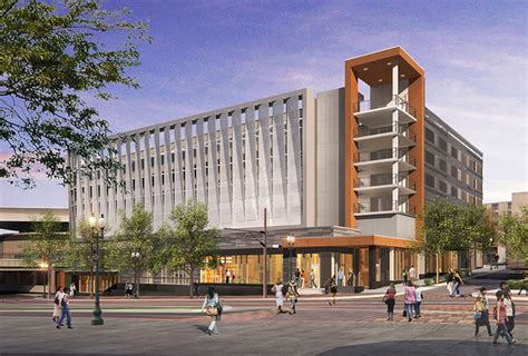Hyatt Regency Parking Garage by City Driving Ahead To Expand Parking Stock Daily Journal