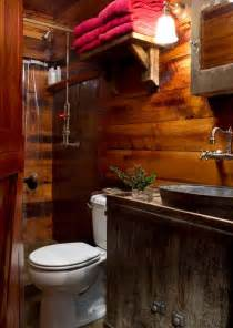 5 ultra rustic bathrooms