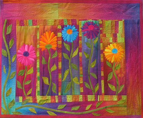Nature Quilts by Quilt Inspiration Dances With Nature The Quilts Of
