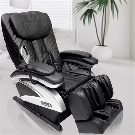 reclining massage chairs reclining full body massage chair with arm and foot massagers