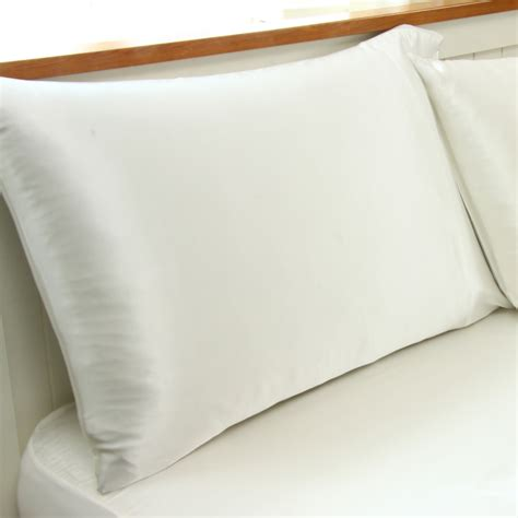 fitted silk sheet and pillowcase set the sleep