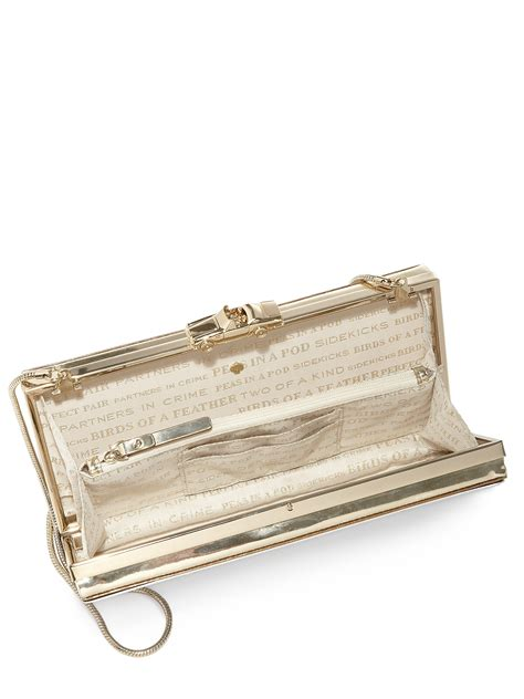 Wedding Belles License Plate Clutch by Kate Spade New York Wedding Belles License Plate Clutch In